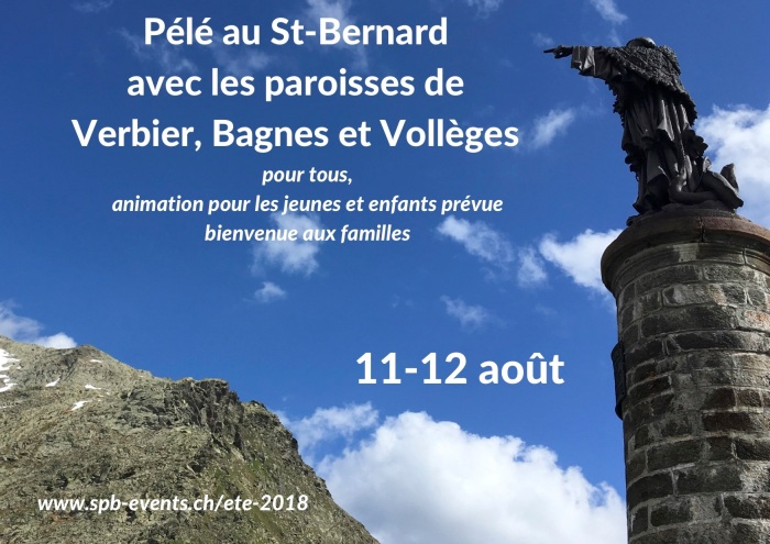 Pélé au St-Bernardavec les paroisses de Verbier, Bagnes et Vollèges (1)
