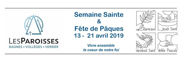 logo Semaine Sainte 2019