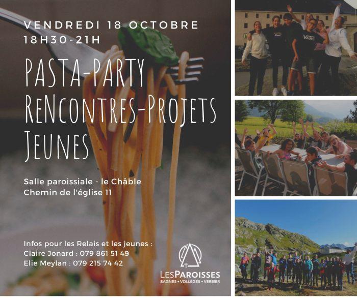 PASTA-PARTY Rencontres Jeunes