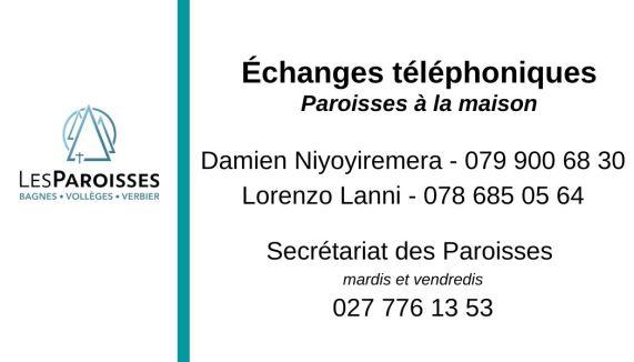 Echanges téléphoniques V2.
